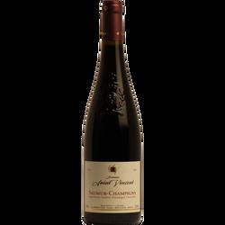 """Vin rouge AOP Saumur Champigny """"Domaine Saint Vincent"""" HVE3 , 75cl"""