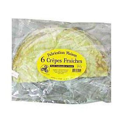"""6 Crêpes fraîches """"maison"""", 300g"""