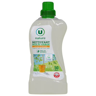 Nettoyant multi-usage savon de marseille U NATURE, 1,25l