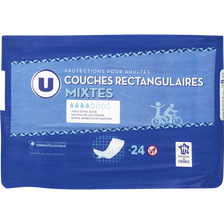 Couches rectangulaires mixtes U, x24