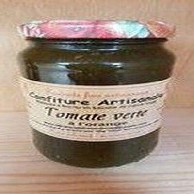 Confiture de tomate verte à l'orange, Recette du Jura, 430g
