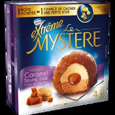 Mystère caramel beurre salé éclats de macaron EXTREME, 4 pièces de 77g