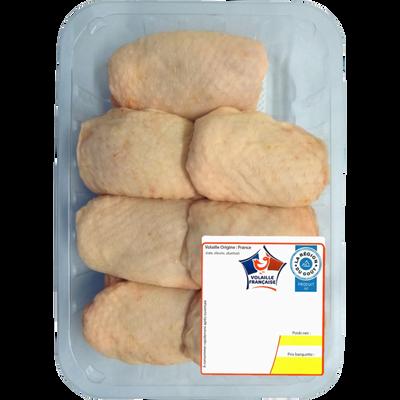 Haut de cuisse de poulet jaune, France