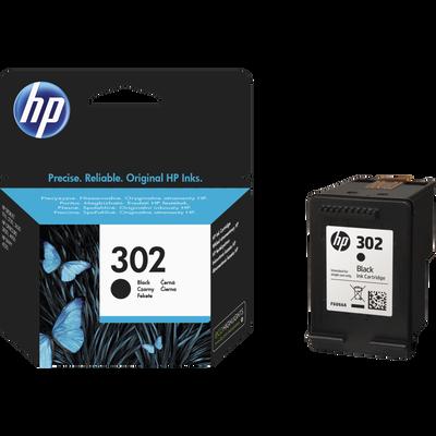 Cartouche d'encre HP pour imprimante, 3630, noir N°302, sous blister