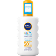 Nivea Spray Enfants Protect & Sensitive Spf50+ Nivea Sun, Flacon 200ml