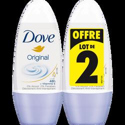 Déodorant Original DOVE, 2x50ml