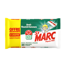 St Marc Lingettes Désinfectantes 0% Résidus Agressifs , X66