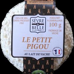 Le petit pigou, SEVRE ET BELLE, lait pasteurisé, 23% Mat.Gr, 100g