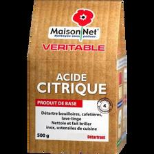 Maison Net Nettoyant En Poudre Acide Citrique , Paquet De 500g