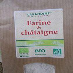 farine de chataigne bio 400g