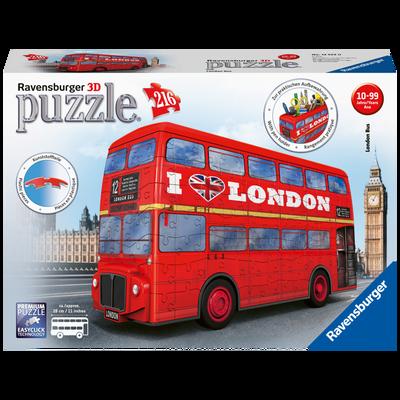 Puzzle 3d - bus londonien