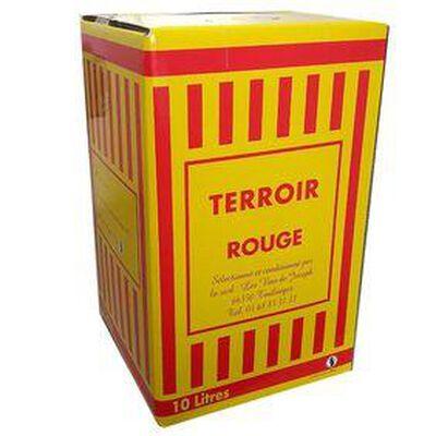 VIN ROUGE TERROIR CATALAN - IGP Côtes Catalanes -BIB de 10 Litres