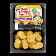 Père Dodu Nuggets De Poulet, Pere Dodu, 50 Pièces, Barquette 1kg
