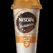 Boisson lactée à l'extrait de café latte caramel, NESCAFE, 190ml