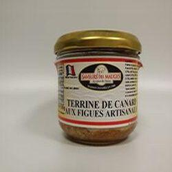 Terrine de Canard aux Figues Artisanale SAVEURS DES MAUGES 180g