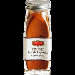 Piment fort cayenne en poudre ERIC BUR, 38g