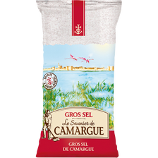 Gros sel de Camargue LE SAUNIER, 1kg