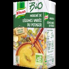 Mouliné légumes variés du potager Bio KNORR, brique de 1 litre