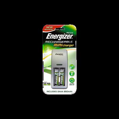 Piles rechargeables HR03 850MAH et mini chargeur ENERGIZER