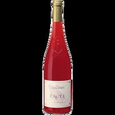 Tavel AOC rosé LES CIGALIERES, bouteille de 75cl