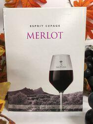 IGP Pays d'Oc - Cave de St Mathieu de Tréviers - Esprit Cépage - Merlot rouge 5L