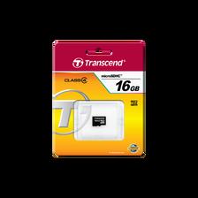 CARTE MICRO SD 16GO TRANSCEND-CLASS 4