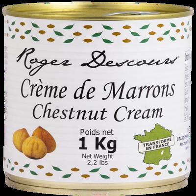 Crème de marrons vanillée, boite de 1kg