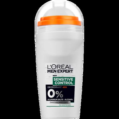 Déodorant hydra sensitive, MEN EXPERT, bille de 50ml