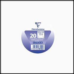 Enveloppe gommée carrée CLAIREFONTAINE, 165x165mm, blanc, 20 unités, sous film