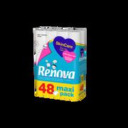 Renova Papier Hygiénique 3 Plis Skincare Renova, 24 + 24