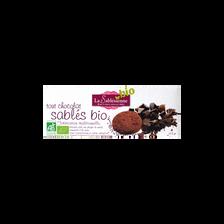 Sablé tout chocolat BIO BISCUITERIE LA SABLESIENNE, étui de 115g
