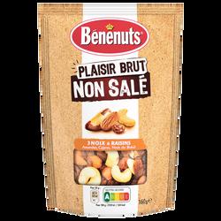 Plaisir brut mix raisin/noix Brésil grillées BENENUTS 160g