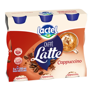 Lactel Boisson Lactée Uht Sucré Au Café Et Cacao Lactel 3x200ml