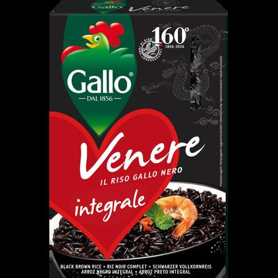 Riz noir Vénéré RISO GALLO, étui de 500g
