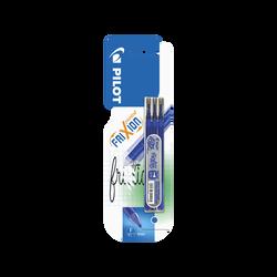 Recharge d'encre pour stylo Frixion Point PILOT, pointe fine 0,5mm,bleu, 3 unités
