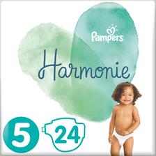 Pampers Couches Harmonie 11-16kg  T5 Géant Paquet X24