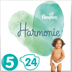 Couches harmonie taille 5 11-16kg PAMPERS, x24