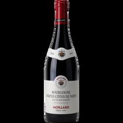 Vin rouge AOP Borgogne Hautes Côtes de Nuits Vignes Hautes Moillard, 75cl