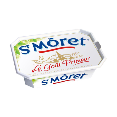 Spécialité fromagère au lait pasteurisé ST MORET, 17,8%MG, 150g