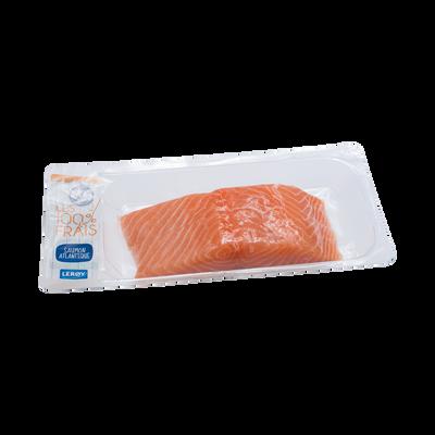 Pavé de saumon avec peau, salmo salar, élevé en Norvège, 250g