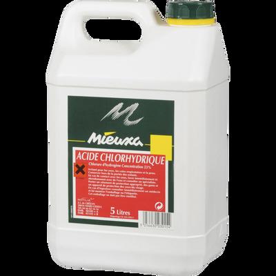 Acide chlorydrique, 5 litres
