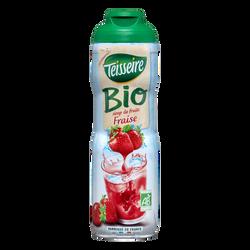 Sirop de fraise bio TEISSEIRE, 60cl