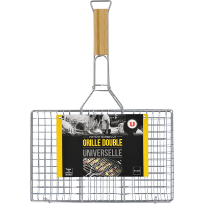 Grille double U, universelle