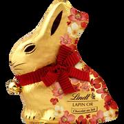Lindt Lapin Or Fleur Chocolat Au Lait Lindt, 500g