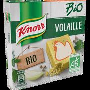 Knorr Bouillon De Poule Bio Knorr, 6 Tablettes Soit 60g