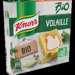 Bouillon de poule BIO KNORR, 6 tablettes soit 60g