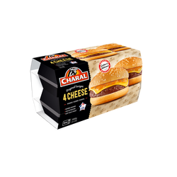 Cheese burger CHARAL, 4x145g