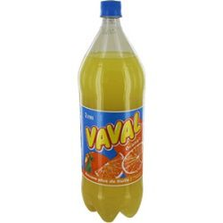 Soda à l'orange, VAVAL, la bouteille de 2l