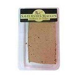 Pâté de foie à l'ancienne au sel de Guérande SAVEURS DES MAUGES, 180g