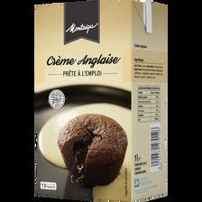 Crème anglaise UHT MONTAIGU, 1l